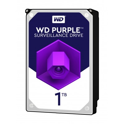Хард диск HDD 1TB SATAIII WD Purple 64MB for DVR/Surveillance (3 years warranty)