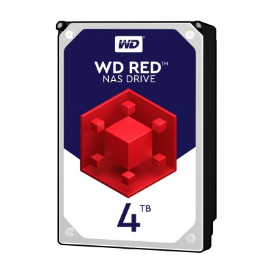 Хард диск HDD 4TB SATAIII WD Red 64MB for NAS (3 years warranty)