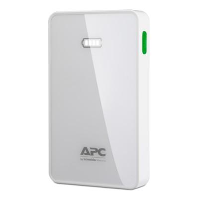 APC Mobile Power Pack, 5000mAh Lipolymer, White