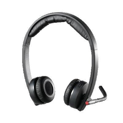 Слушалки за компютър LOGITECH WL HEADSET H820E STER