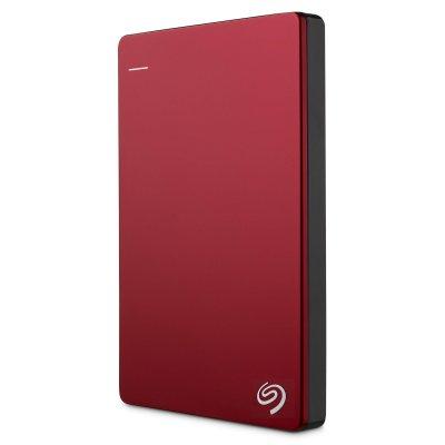 Външен хард диск EXT 1TB SG BACKUP+SLIM RED