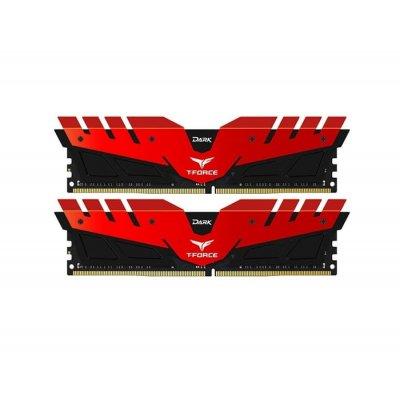 Памет 2X8G DDR4 2666 TEAM DARK Z RED