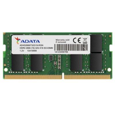 Памет 32GB DDR4 2666 ADATA SODIMM