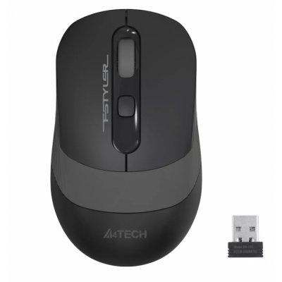 Мишка A4 FG10 USB WL GRAY