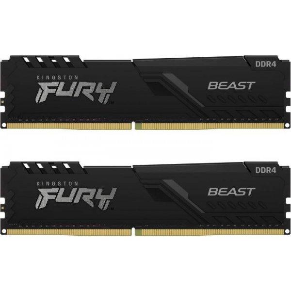 Памет 2X16G DDR4 2666 KINGST FURY BE