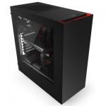 Компютърна кутия NZXT SOURCE 340MB-GR MID BK/RD