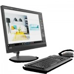 Компютър Lenovo IdeaCentre AIO 520 23.8 IPS FullHD i36006U 2.0GHz, 4GB DDR4, 1TB 3.5, DVD, WiFi, BT, FullHD cam, Black + USB keyboard and mouse