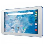 Таблет Tablet Acer Iconia B17A0K53J ANDROIDIEUBE 7.0 WSVGA 2Cww316T 8167/11G/16G/1 cell battery/R/H7WSbgn0.3G2.0MEBN1O1, Blue (rear cover)/White (front)