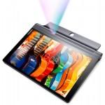 Таблет Lenovo Yoga Tablet 3 Pro 4G/3G WiFi GPS BT4.0, LED Projector up to 70, Intel x5Z8500 2.24GHz QuadCore, 10.1 IPS 2560x1600, 4GB DDR3, 64GB flash, 13MP + 5MP cam, MicroSIM, MicroSD up to 128GB, MicroUSB, Quad JBL speakers, 18 hours battery life, Andr