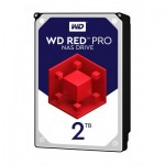 Хард диск HDD 2TB SATAIII WD Red PRO 7200rpm 64MB for NAS and Servers (5 years warranty)