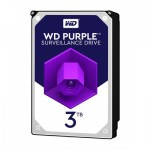 Хард диск HDD 3TB SATAIII WD Purple 64MB for DVR/Surveillance (3 years warranty)