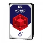 Хард диск HDD 6TB SATAIII WD Red 64MB for NAS (3 years warranty)