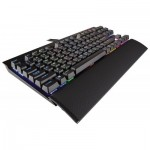 Клавиатура Клавиатура Corsair Gaming K65 RGB RAPIDFIRE Compact Mechanical Keyboard, Backlit RGB LED, Cherry MX RGB Speed (US)