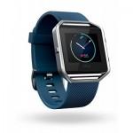 Fitbit Blaze, Blue, Silver, Large, EMEA