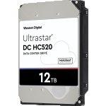 Хард диск HDD 12TB WD Ultrastar DC HC520 He12 3.5 SAS 7200rpm 256MB (5 years warranty)