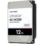 Хард диск HDD 12TB WD Ultrastar DC HC520 3.5 SATAIII 256MB, Наследник на WD Gold (5 years warranty)