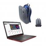 HP Лаптоп 5GY26EA, 15,6'', N5000, 8 GB, SSD, 256 GB, аленочервен, с ПОДАРЪК HP раница
