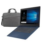 Lenovo Лаптоп Ideapad 330, 81d100L4BM, 15.6'', 1 TB, с ПОДАРЪК чанта, синя