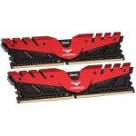 Памет 2X8G DDR4 3200 TEAM DARK RED